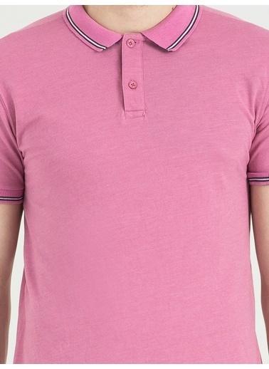 Loft Polo Yaka Tişört Pembe